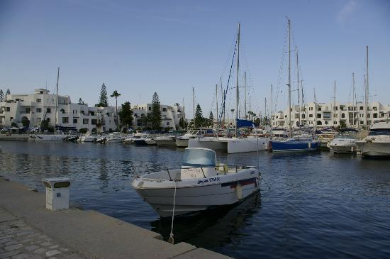 Marhaba Palace Hotel: Marina at Port El Kantaoui