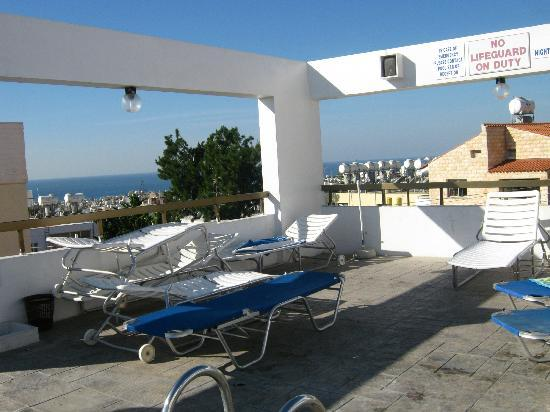 Paul Marie Apartments: View from pool area.