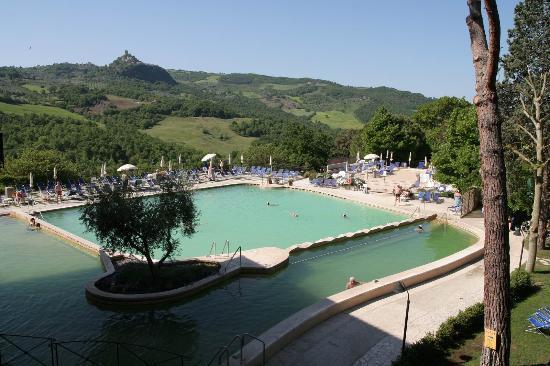 Piscina foto di albergo posta marcucci bagno vignoni tripadvisor - Hotel posta marcucci bagno vignoni prezzi ...