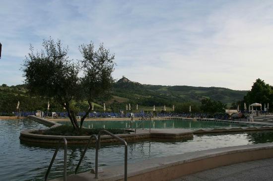 albergo posta marcucci vista piscina 2
