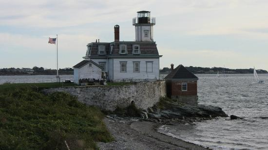 Rose Island Lighthouse: Lighthouse