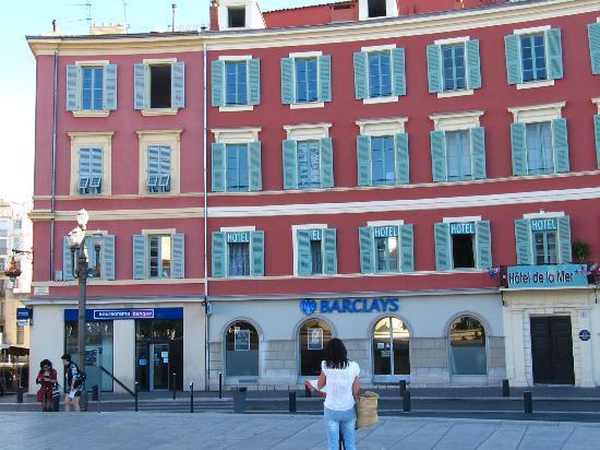 Hotel de la Mer: vista edificio hotel