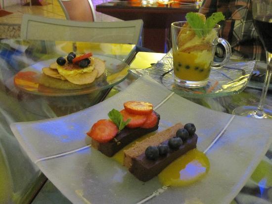 Tamarillos : desserts....