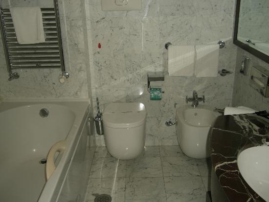 Italiana Hotels Cosenza : Il bagno....pulito ed efficiente!