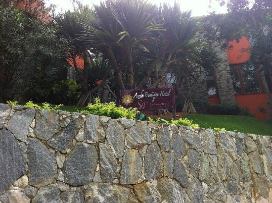 Azeda Boutique Hotel: Vista parcial externa