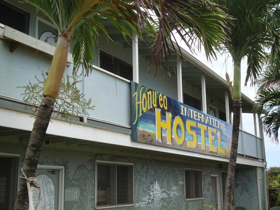 ‪‪Honu'ea International Hostel Kauai‬: Front of hostel‬
