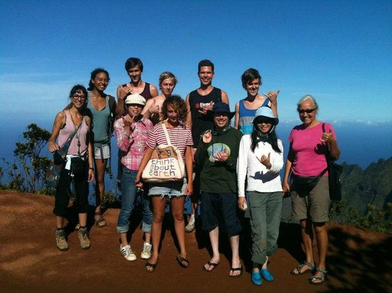 Honu'ea International Hostel Kauai: Group tour to Koke'e