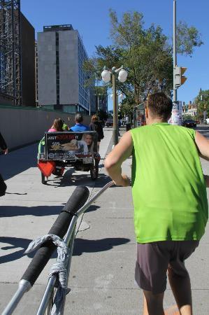 Ottawa Rickshaws: rickshaw ride in ottawa on