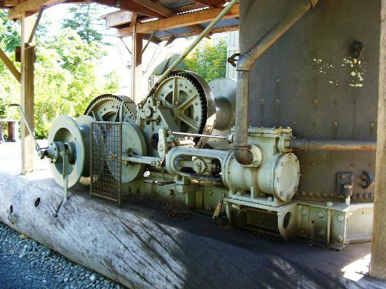 The Museum at Campbell River : Exterior display