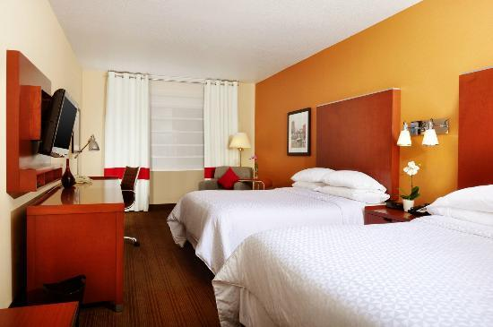 Four Points by Sheraton Portland East: Double Queen room