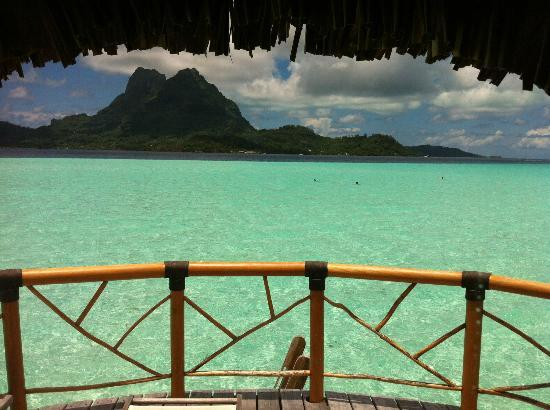 Bora Bora Pearl Beach Resort & Spa: View from bungalows