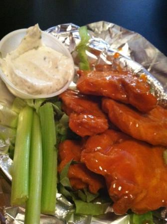 The Remedy Diner : The vegan buffalo wings were so good!