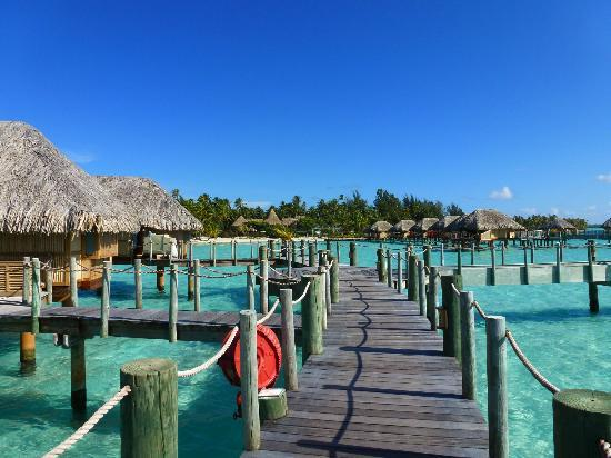 Bora Bora Pearl Beach Resort & Spa: Walk out to bungalows