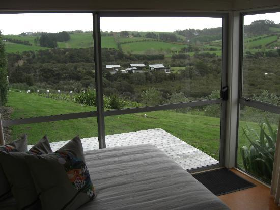 Riverside Matakana: View from lounge room of villa 1