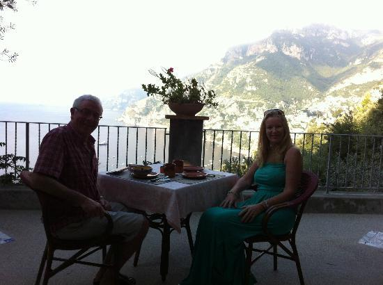 Rifugio degli Dei: Breakfast had to be leisurely!