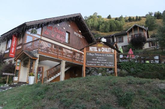 Panoramic Village (Chalets de la Meije): Reception