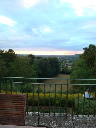 Hotel La Croix De Vernuche : view from the room