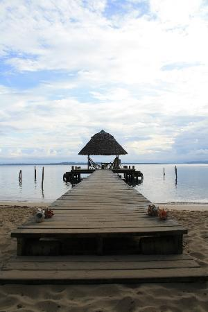 Al Natural Resort: the main dock