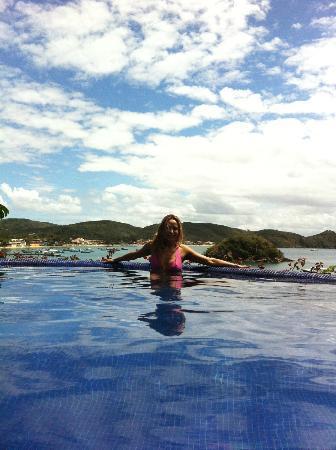 Vila d'este: piscina temperada