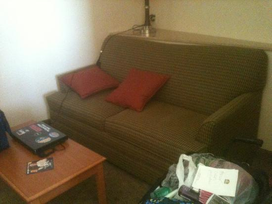 Comfort Suites Prescott Valley: Comfy couch in room...