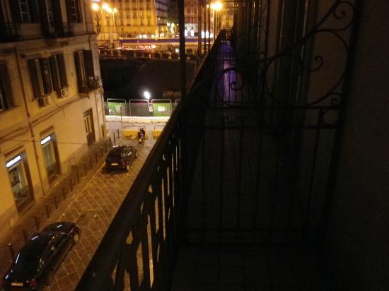 Starhotels Terminus: Street from balcony