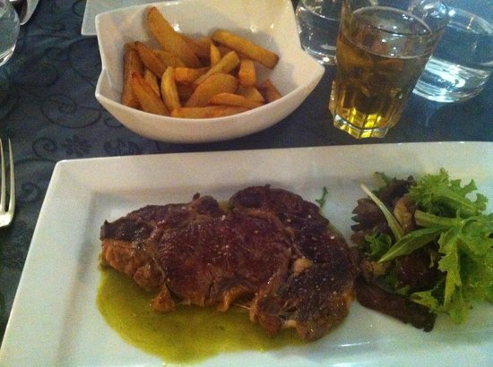 MELODYNICE: Steak and Frittes