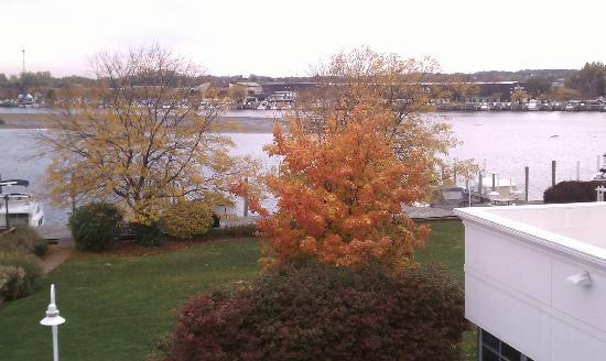 Holiday Inn Grand Haven - Spring Lake: View from a water-facing 4th floor room