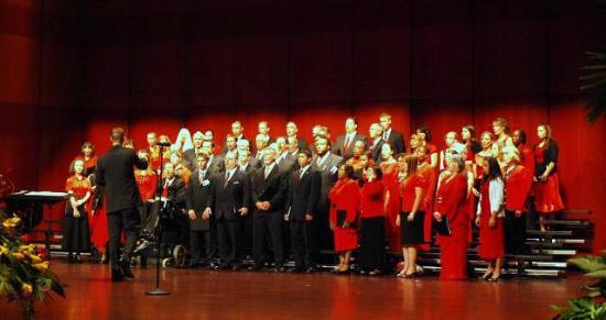 Armstrong Auditorium: Choir concert