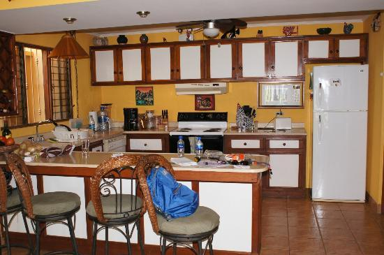 Bahia Pez Vela Resort: The kitchen (we made ourselves at home!)