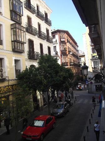 Hostal Castilla II: View from room