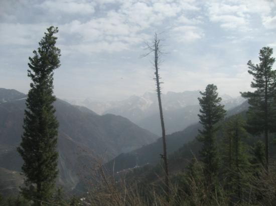 Paquistão: View from Shogran, plain Land at some height, KPK, Pakistan
