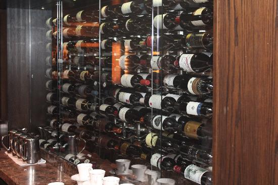 The Saddle Room Restaurant: Broad selection of international wines