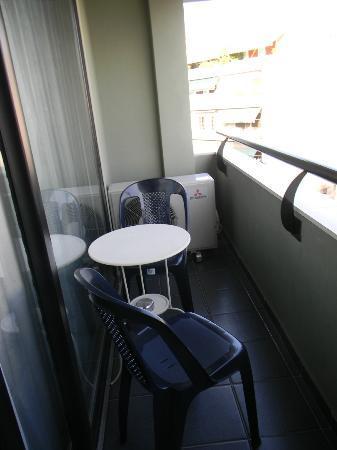 Athens Studios: balcon