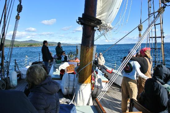 Schooner Appledore II Windjammer Cruise: October 2012