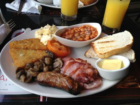 "Angus Steakhouse: ""Full english breakfast"""