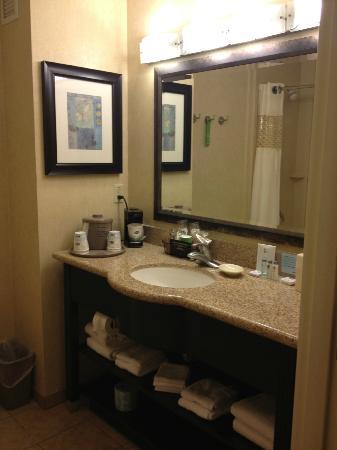 Hampton Inn & Suites Barstow: Sink