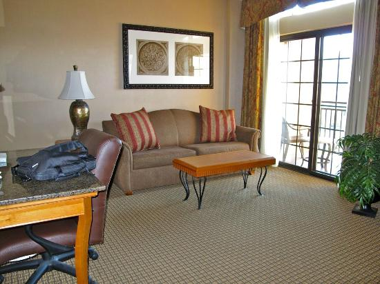 Hampton Inn & Suites Coeur d'Alene: comfortable sitting area