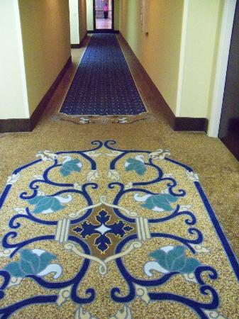 Hampton Inn Mount Airy: hallway