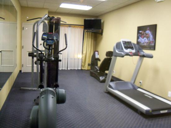 Hampton Inn Mount Airy: workout room