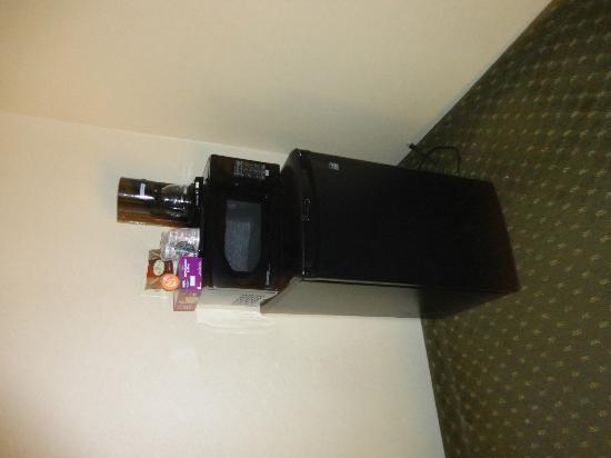 Avenue Hotel : Fridge and Microwave