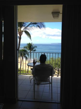 The Hale Pau Hana: view from balcony #706