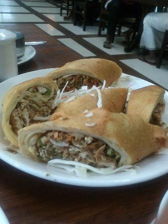 Ambadi : Chicken spring roll