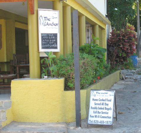 The Anchor Cafe: Free Wi Fi