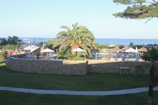Hotel La Lagune : vue de la chambre
