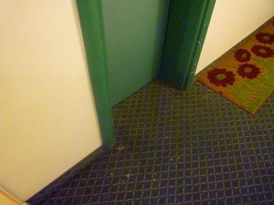 """Biasutti Hotel: Flur vor unserem """" alten Zimmer"""" im linken Gebäudeteil"""