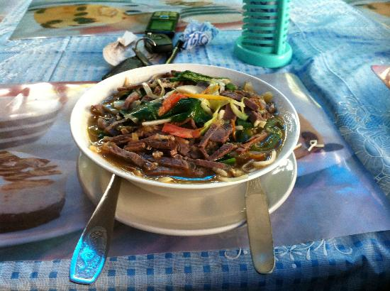 Tibetan Chefs Restaurant : Traditional food - great quantity