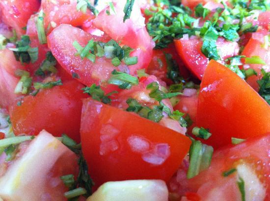 Phuket Cleanse: thai tomato salad