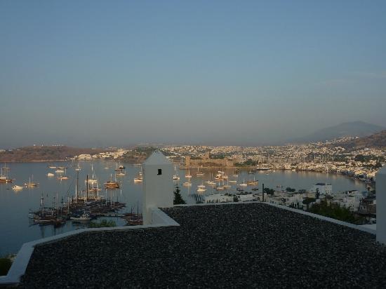 Hotel Manastir: vue depuis la terrasse