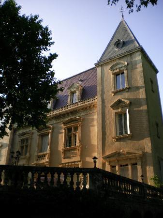 château le Martinet : LA FACADE