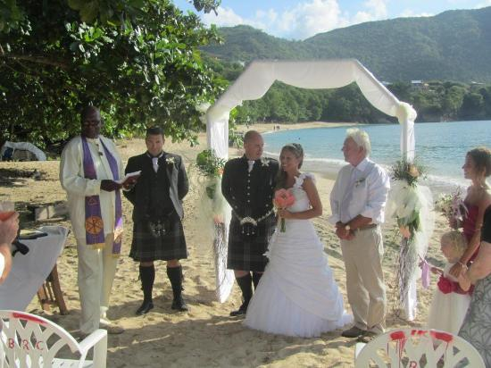 Spring House Bequia: The wedding